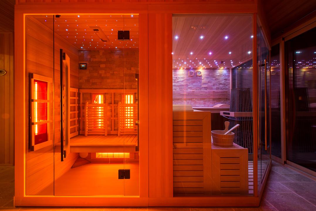 infraroodcabine infrarood sauna op maat