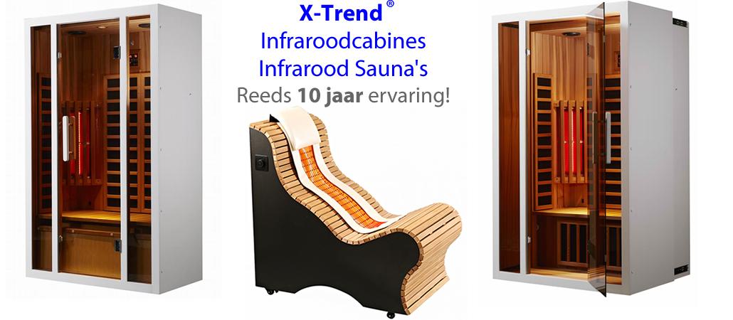 Infraroodcabine infrarood sauna
